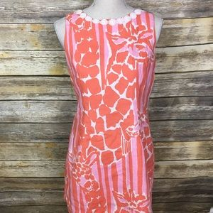 Lily Pulitzer for Target Shift Giraffe Dress, S 12